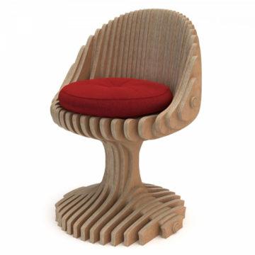Параметрический барный стул Stem