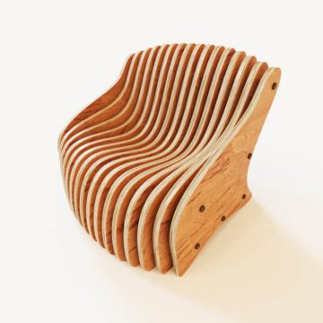 Параметрическое кресло Wave 2