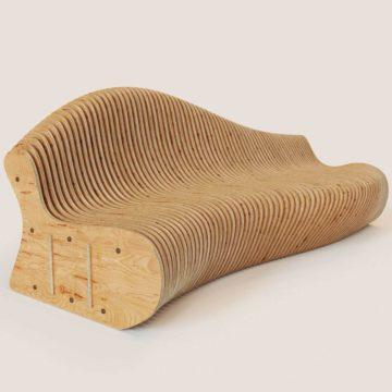 Параметрический диван Bend