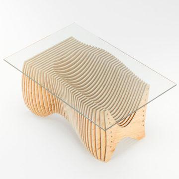 Параметрический журнальный столик Wave